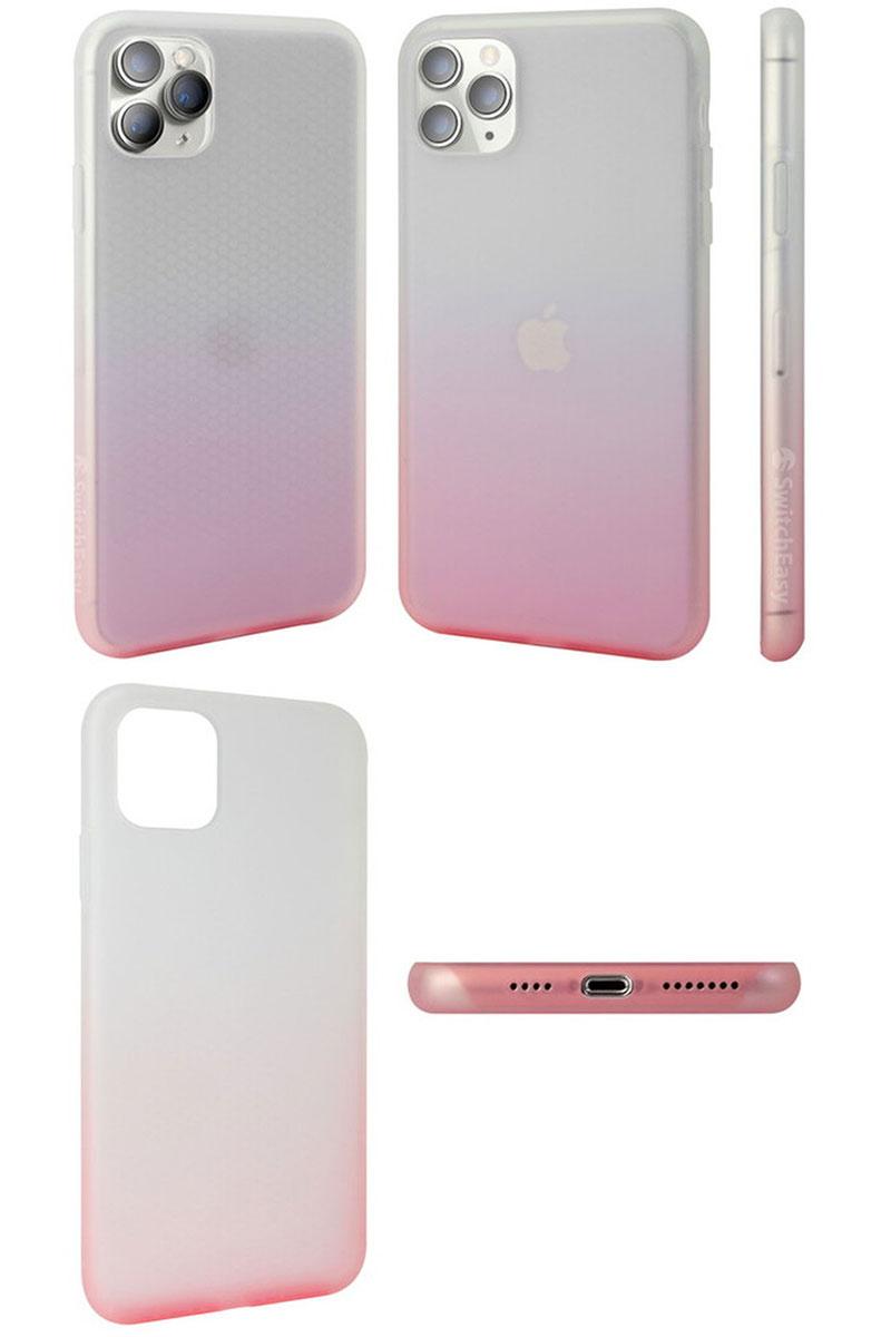 Gradient Pink/White