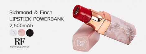 Richmond & Finch LIPSTICK POWERBANK 2,600mAh