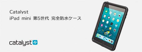 Catalyst iPad mini 第5世代 完全防水ケース ブラック